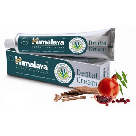 3 x Himalaya Herbal Dental Cream Natural Toothpaste 100g