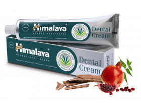 3 x Himalaya Herbal Dental Cream Natural Toothpaste 100g