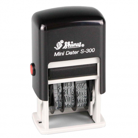 Self Inking Rubber Date Stamp, Dater