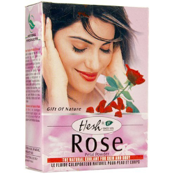Natural Herbal Rose Petal Powder for Face Hair Skin Mud Pack 50g