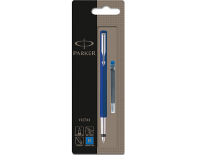Parker Vector Fountain Pen Blue (Blister Pack) S0881011