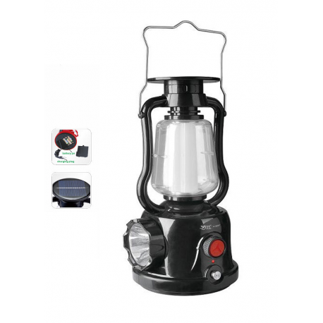 Rechargeable 27 SMD Led Lantern Camping Tent Fishing Dimmable Solar Light Torch