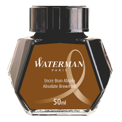Waterman Absolute Havana Brown Ink Bottle S0110830