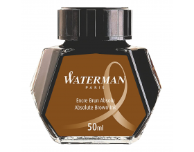 Waterman Ink Bottle Absolute Havana Brown S0110830
