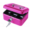 "6"" Key Lockable Storage Security Petty Cash Small Money Box"