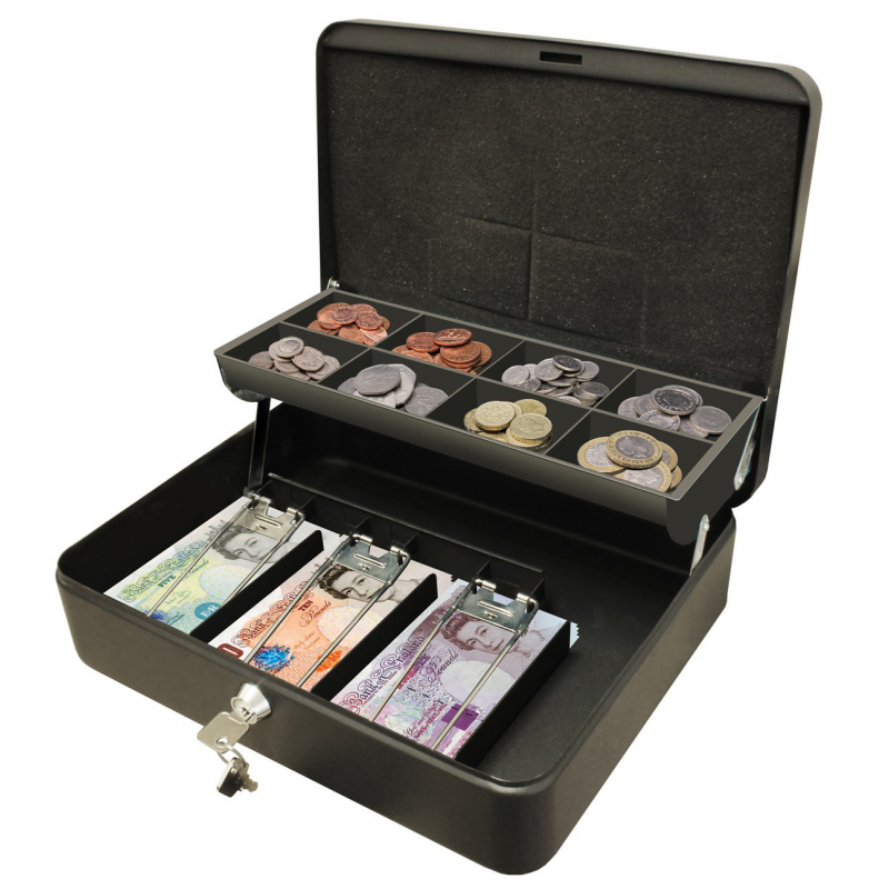 Cathedral Cash Box Ultimate Lockable Cash Box With Keys