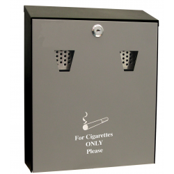 Outdoor Wall Mounted Cigarette Ashtrays, Ash Bin