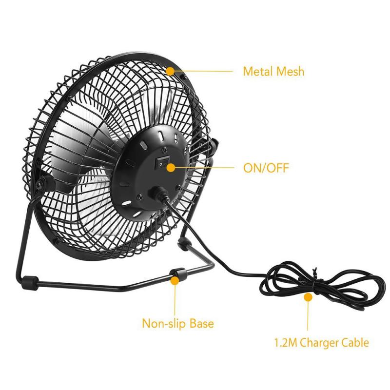 6 Inch Mini Usb Desk Fan