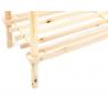 3 Tier Stackable Wooden Shoe Rack Vertical Storage Shelf Unit