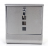 Wall Mounted Letterbox Postbox Mailbox for Outside Houses & Offices