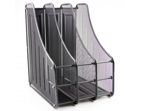 3 Tier Desk File Organiser, Magazine Holder