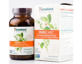 Himalaya MindCare Bacopa Ashwagandha Gotu Kola Organic