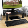 Computer Monitor Stand Screen Riser Adjustable for Small TV, PC, Desktop, Printer