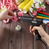 Hot Melt Glue Gun Crafts with 11mm x 200mm Glue Sticks 100W Electric Professional